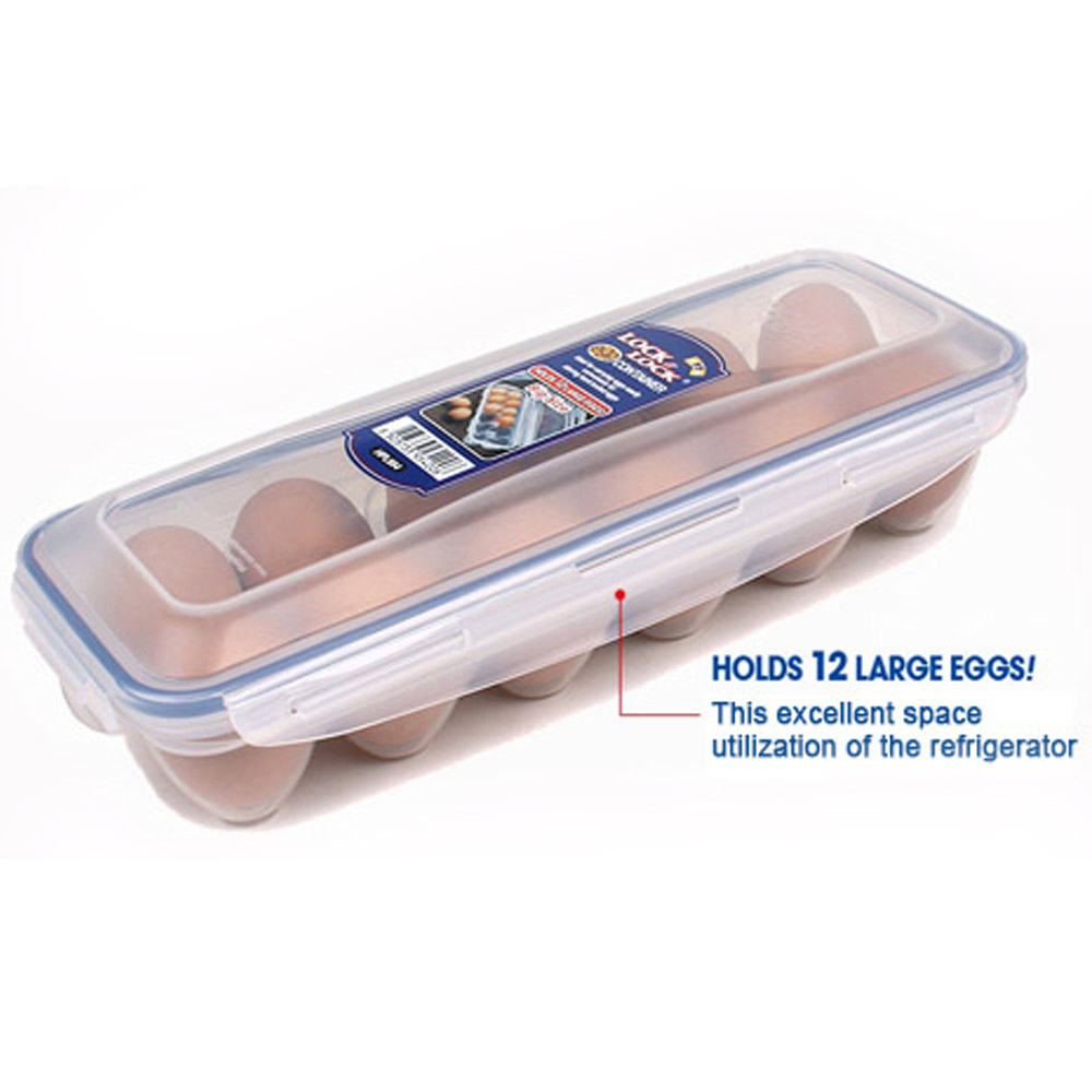 Lock Amp Lock 12 Eggs Box Refrigerator Egg Storage Boxes