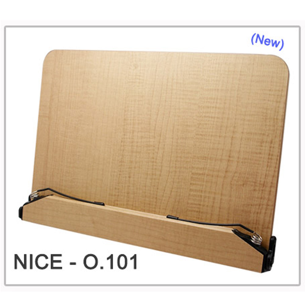 Portable Wood Book Holder Notebook Stand Reading Folding Desk Bookholders O 101