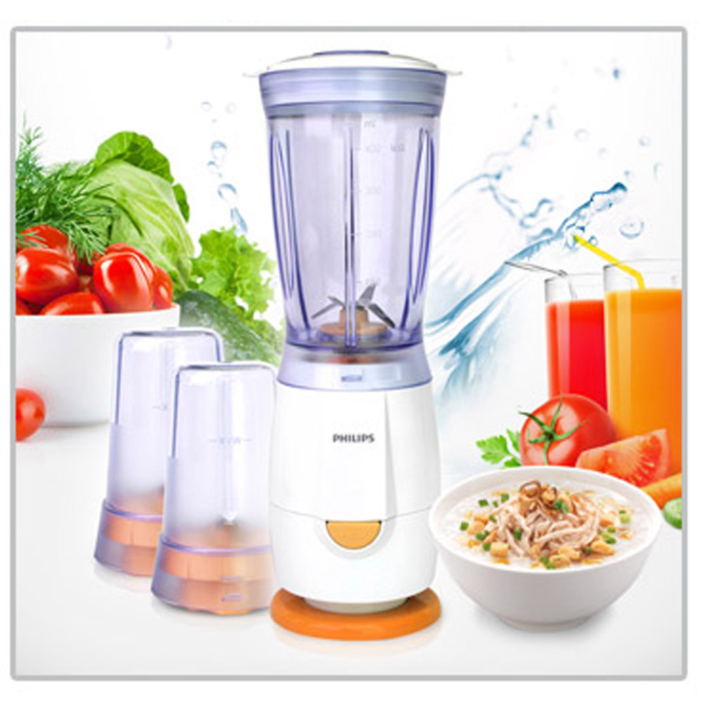 Philips Mini Blender HR2860 0.4L Plastic Jar Home Mixer Food grinder ...
