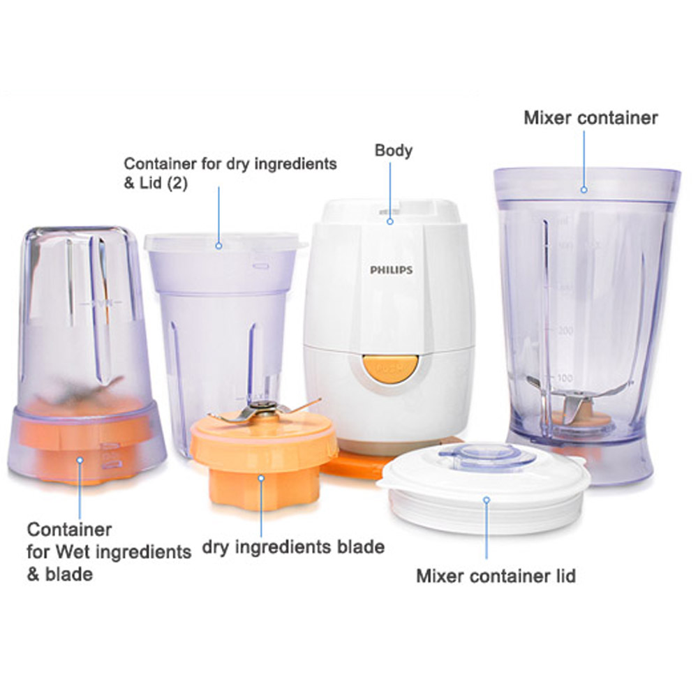philips mini blender hr2860 04l plastic jar home mixer