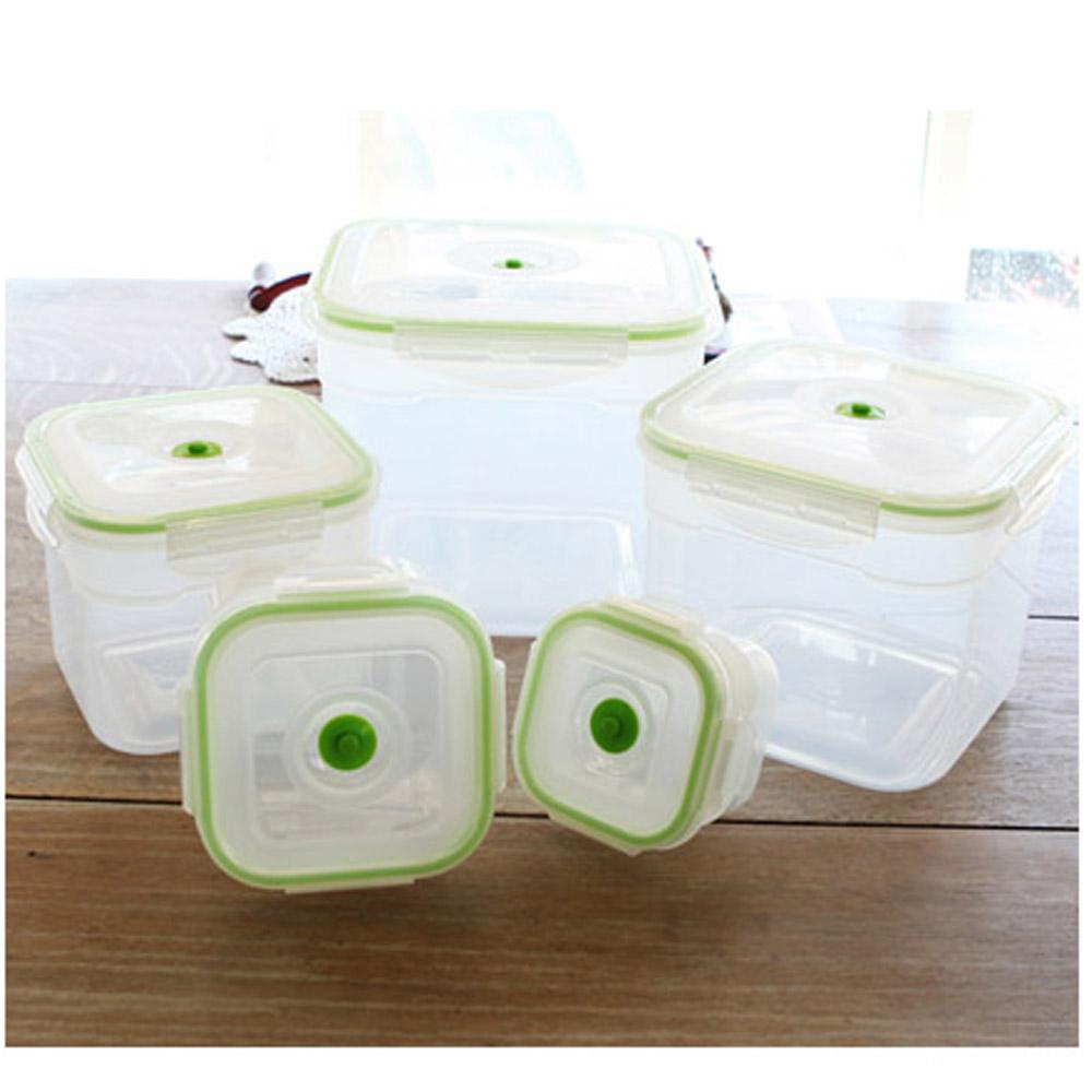 Kitchen Airfree Vacuum Food Seal Container Handy Sealer Machine Storage  Fresh